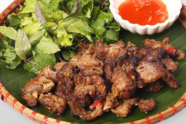 cách làm món thịt nướng riềng mẻ
