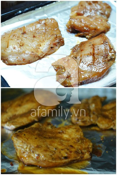 Thay đổi khẩu vị với cách làm gà nướng cay ngon