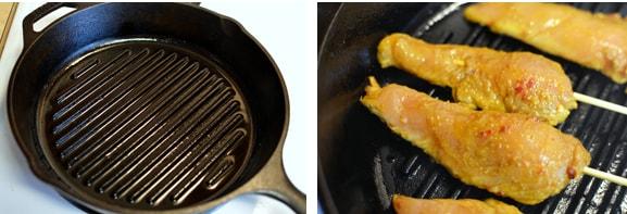 Hướng dẫn cách làm gà xiên nướng Satay
