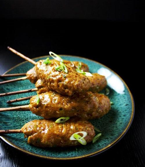 Hướng dẫn cách làm thịt gà xiên nướng kiểu Nhật