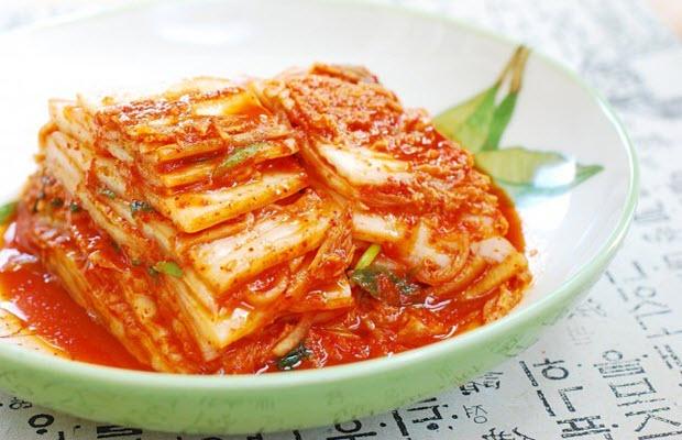 kim chi ăn kèm thịt nướng hàn quốc