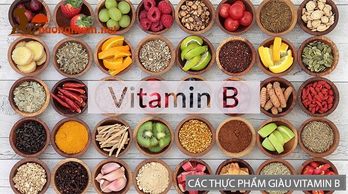 Các thực phẩm giàu Vitamin B giúp giảm căng thẳng mệt mỏi rất tốt
