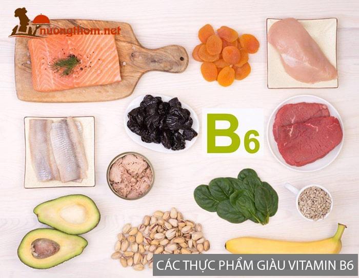 Các thực phẩm giàu Vitamin B6 giúp giảm căng thẳng mệt mỏi rất tốt