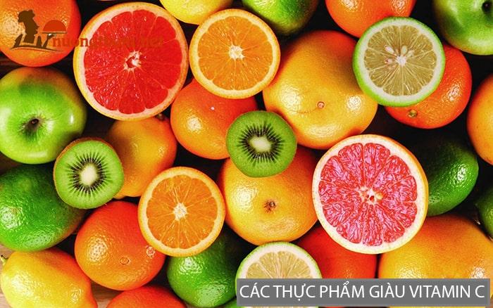 Các thực phẩm giàu Vitamin C giúp giảm căng thẳng mệt mỏi rất tốt