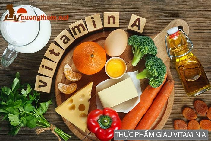 Thực phẩm giàu Vitamin A giúp tăng cường sinh lý nam giới