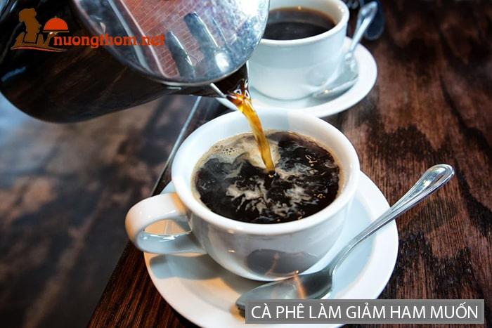 Cà phê và các chất kích thích có thể làm giảm khả năng ham muốn