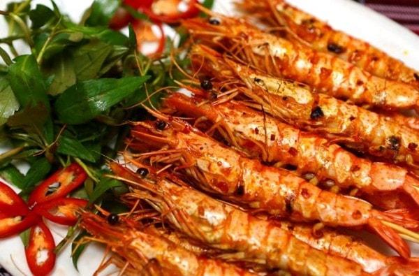 Các món hải sản nướng vô cùng thơm ngon hấp dẫn 2