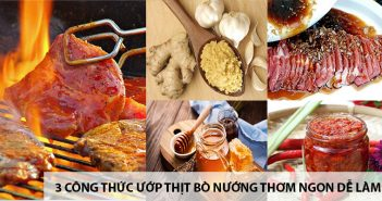 3 công thức ướp thị bò nướng thơm ngon dễ làm 11