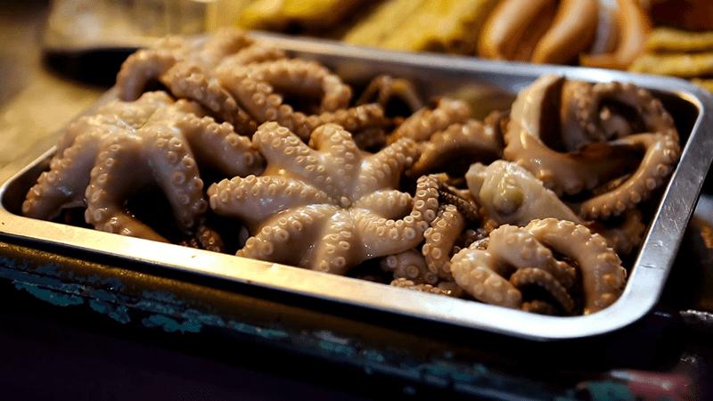 Hướng dẫn cách sơ chế thịt bạch tuộc