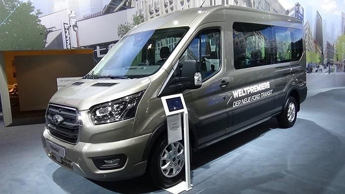 Cấu trúc vỏ của Ford Transit đạt tiêu chuẩn Châu Âu