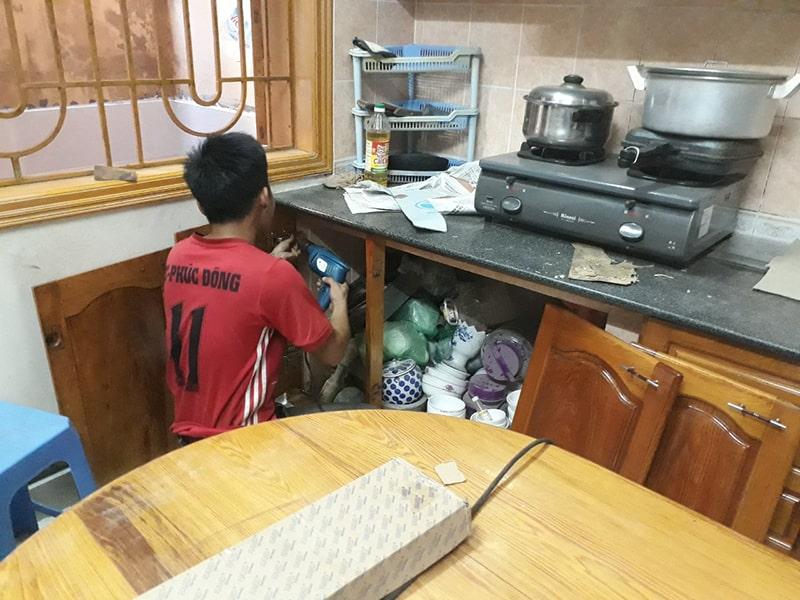 Dịch vụ sửa chữa tủ bếp tại Hà Nội