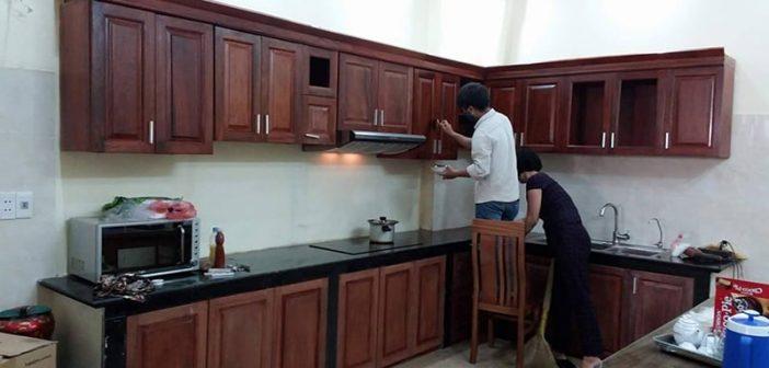 Dịch vụ sửa chữa tủ bếp tại Hà Nội uy tín, chất lượng
