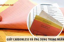 Giấy Carbonless và ứng dụng trong ngành in ấn