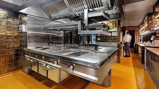 Tiêu chuẩn khi thiết kế bếp công nghiệp nhà hàng