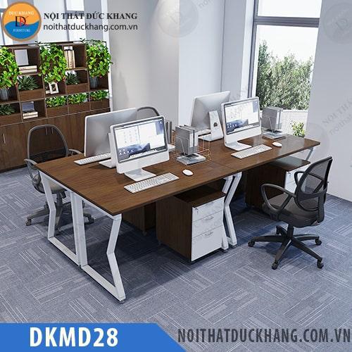 Cụm bàn làm việc 4 chỗ ngồi DKMD28