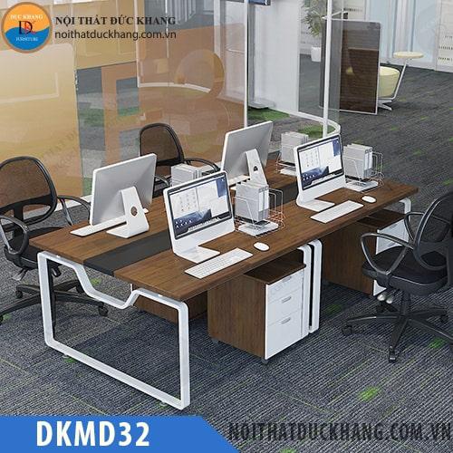 Cụm bàn làm việc 4 chỗ ngồi DKMD32