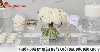 7 món quà kỷ niệm ngày cưới bạc độc đáo cho vợ