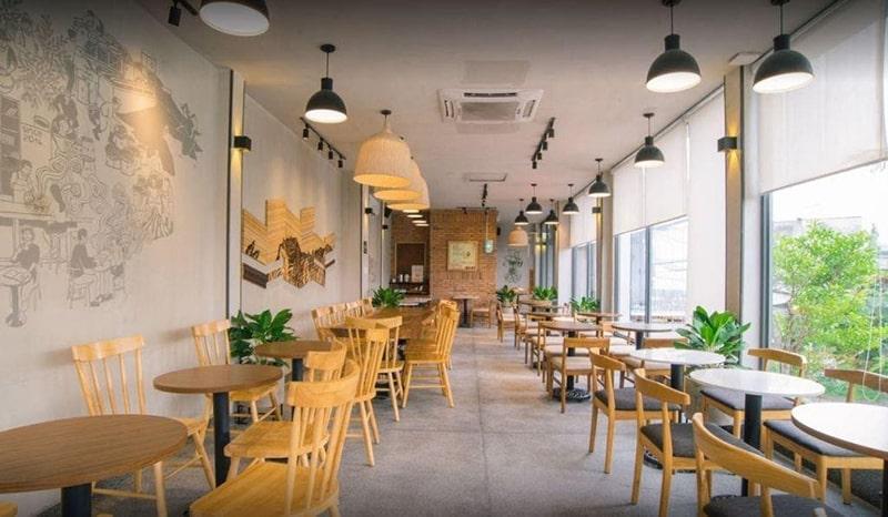 The Coffee House là 1 trong những quán cafe dành cho dân văn phòng ở Hà Nội