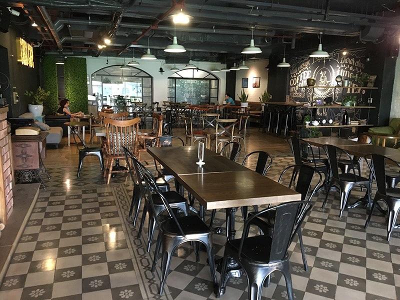 Cora Cafe là 1 trong những quán cafe dành cho dân văn phòng ở Hà Nội
