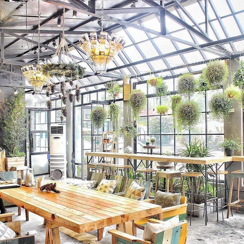 Gardenista là 1 trong những quán cafe dành cho dân văn phòng ở Hà Nội