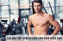 Các bài tập gym cơ bản cho nam hiệu quả nhanh