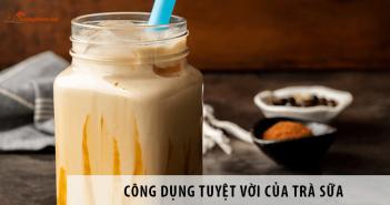 Cùng Trà Sữa Chính Sơn Làm Rõ Công Dụng Tuyệt Vời Của Trà Sữa Nhé