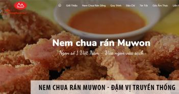 Nem chua rán Muwon - Công thức đậm hương vị truyền thống, chuẩn an toàn 100%
